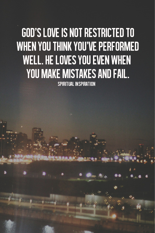 "spiritualinspiration:  When you make a mistake, unfortunately, the critics and naysayers come out of the woodwork. People will tell you, ""You're all washed up. It's too late."" If you wear that label, it will keep you from the amazing future God has in store. God says, ""My mercy is bigger than any mistake."" God says, ""I can still get you to your destiny."" God says, ""I will give you beauty for those ashes. I'll pay you back double for the unfair things that have happened."" You wouldn't be alive unless God had another victory in your future. Why don't you take off the ""washed up"" label? Take off the ""failure,"" ""guilty,"" ""condemned"" labels and put on some new labels: redeemed, restored, forgiven, bright future, new beginning."