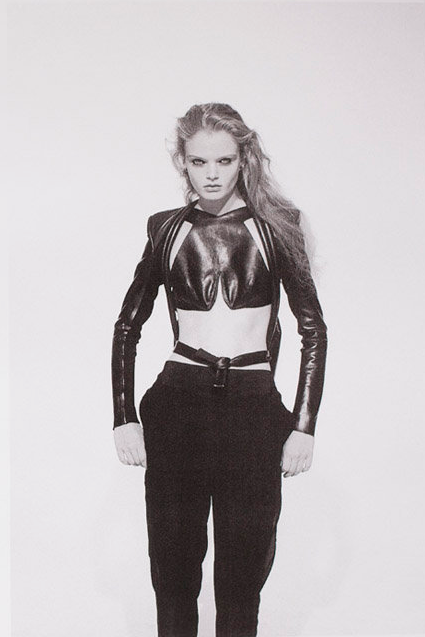 fansification:  Oyster Magazine's 'Black,' by Rene & Vaile & Styled by Mark Vassallo. Starring Marthe Wiggers