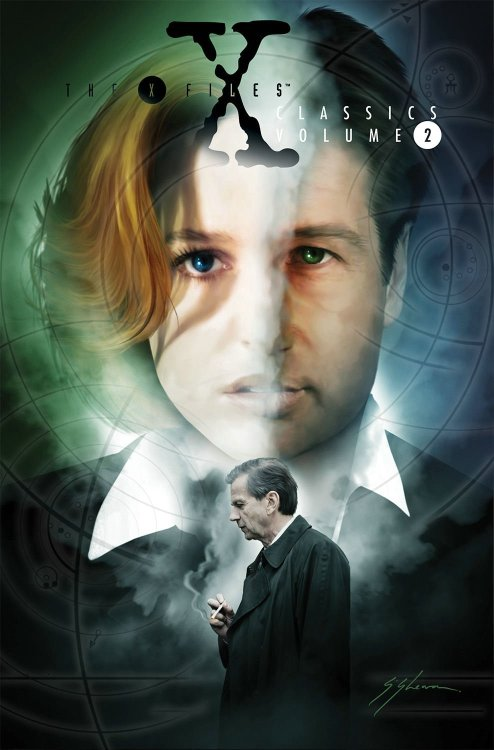 X-Files Classics Volume 2, Topps Re-release from IDW Publishing. Coming August 20, 2013.