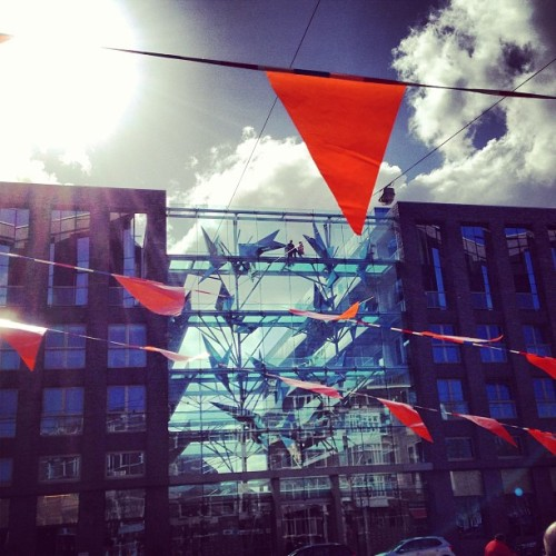 Flags #architecture #amsterdam #queensday