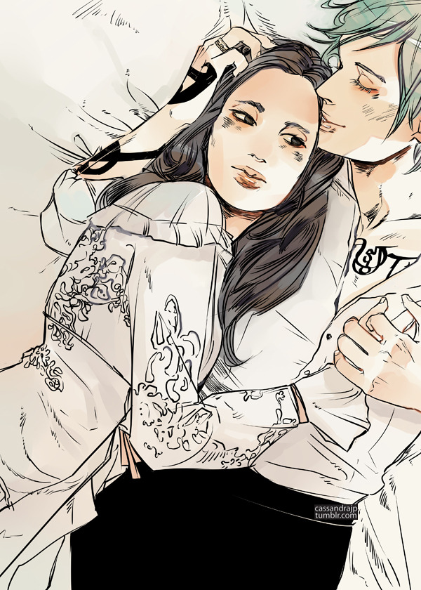 Jem and Tessa~ (The Infernal Devices written by @CassieClare)