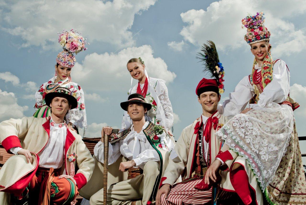 Polish folk wedding dresses