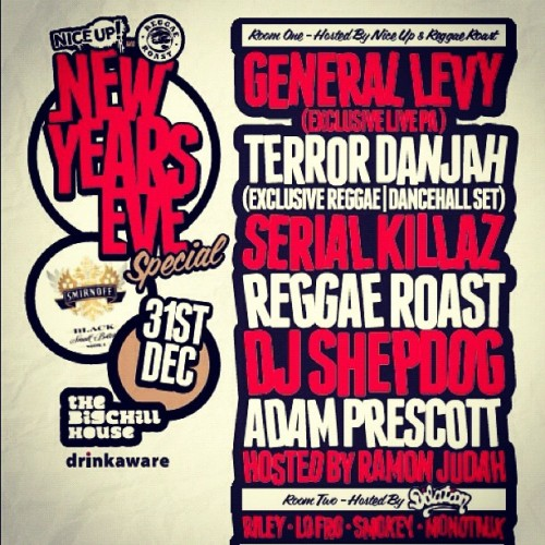 Catch me tonight at @REGGAEROAST @BigChillHouse London 01:00 - 02:30