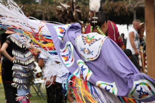 "Ivy Vainio's Pow Wow Dancers Photography Helps Preserve Culture Ivy Vainio was a senior in high school in Duluth, Minnesota when she attended her first pow wow, with her mother, a member of the Grand Portage Band of Ojibwe. ""I remember it very well,"" she says. ""In the summer of 1986, she brought me to the Nimiiwin Pow Wow when they had it down at Bayfront Park. I remember seeing all the campers, some tipis, and all of the dancers in their colorful regalia. I was in awe knowing that this was part of my culture."""