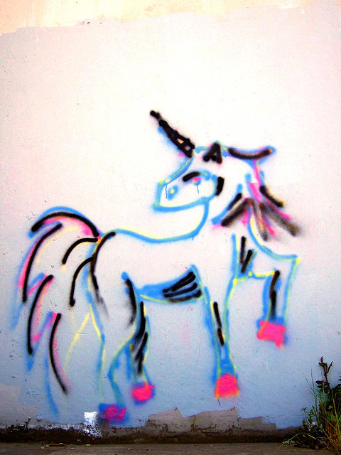 lysergic-psychedelos:  Unicorn by oipom on Flickr.