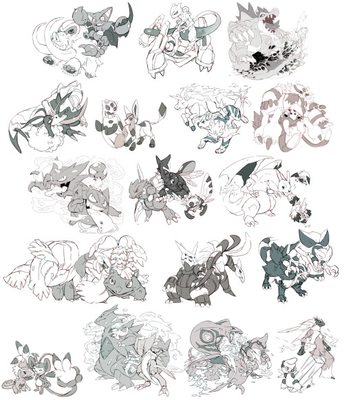 -Pokemon Favorites http://paexiedust.deviantart.com/