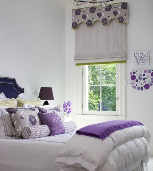 homedesigning:  (via Purple Rooms and Interior Design Inspiration)
