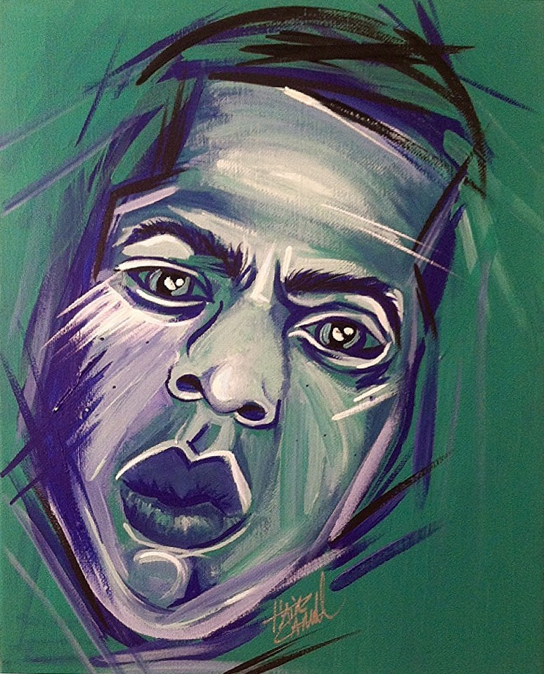 "KING HOV ""Abstract"" 11""x14"" original; acrylic on stretched canvas; $50; SHOP [+] // addart.bigcartel.com PRINTS AVAILABLE http://addart.bigcartel.com/product/king-hov-abstract-painting"