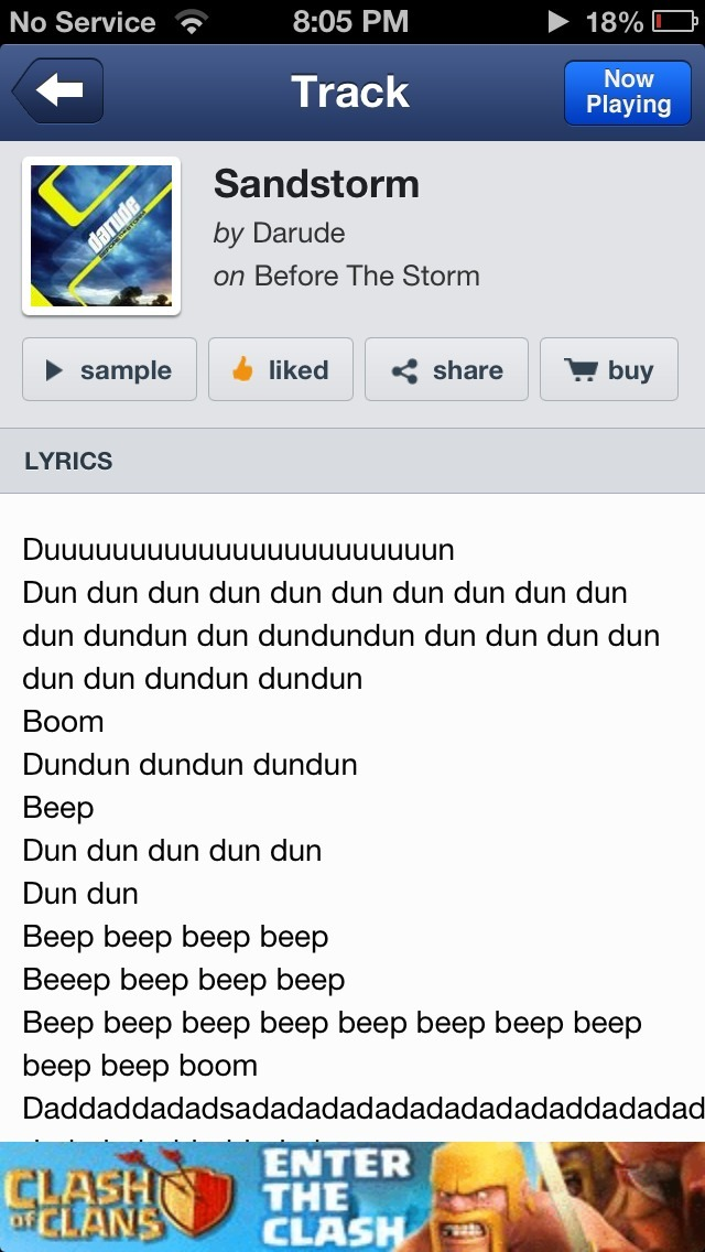 are… are lyrics really necessary?