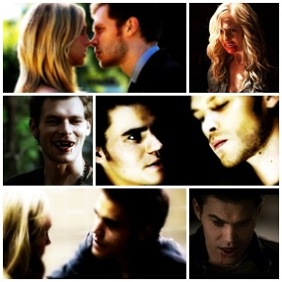 AU: Stefan and Caroline are Rippers who stumble into Klaus' clutches.