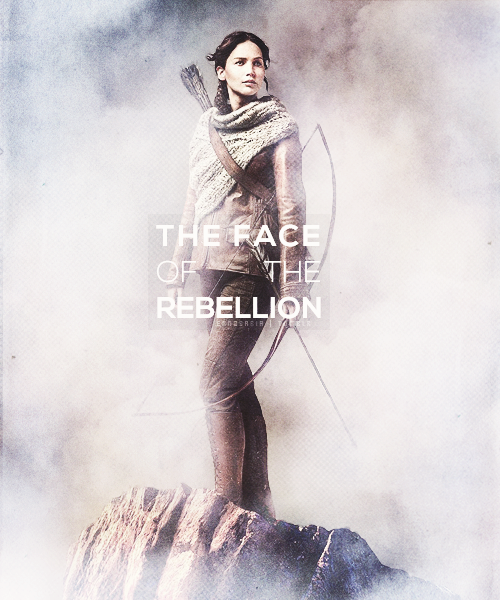 You're the face of the rebellion