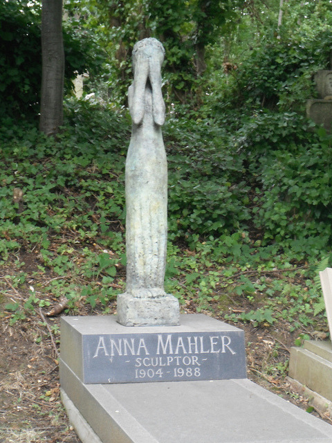 Anna Mahler Highgate Cemetery East Swain's Lane London, England, UK