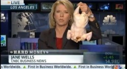 Why did the chicken cross the road? Um, ask @janewells.   http://video.cnbc.com/gallery/?video=3000166504