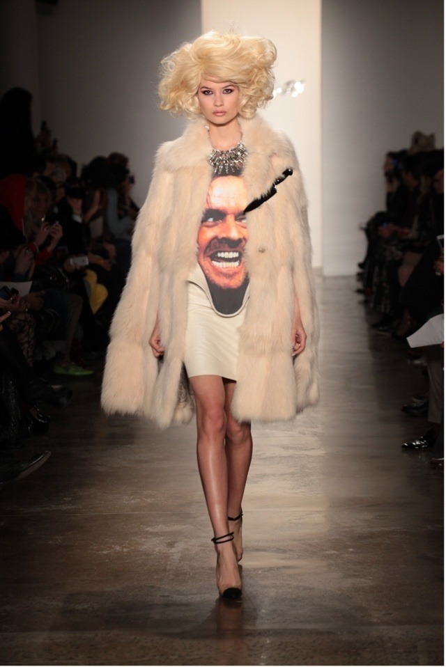 spookypuke:  aclockworkpink:  The Blonds F/W 2013, New York Fashion Week  wtf