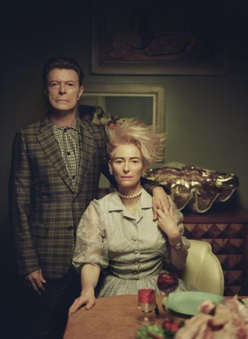 candypriceless:  David + Tilda