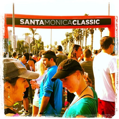About to begin! (at Santa Monica Classic 5k/10k)