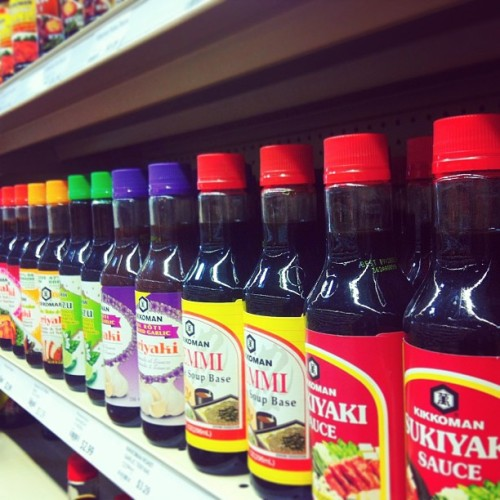 So many options of teriyaki sauces but I remember the days of merchandising. I really appreciate a clean store. #merchandising #store #teriyaki #sauce #instagood #retail #photooftheday #grocery #toronto #igtoronto #ignation  (at Al Premium Food Mart)