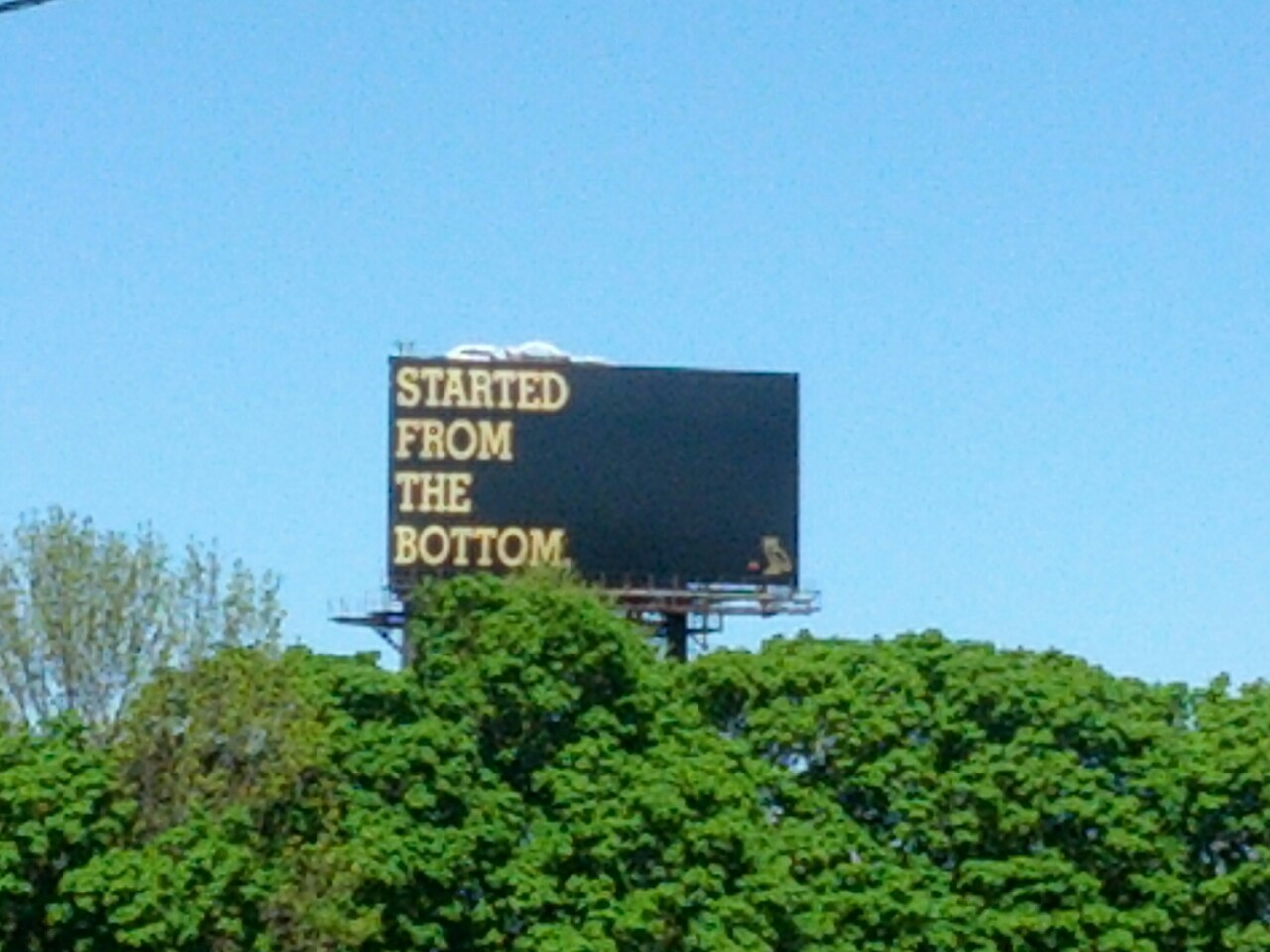 ymcmbarbiee:  OMG!!!! Saw the SFTB billboard that was in Drake's video today!