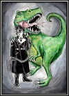 Fear the trex this is from a dream i had i @velvet-valkyrie