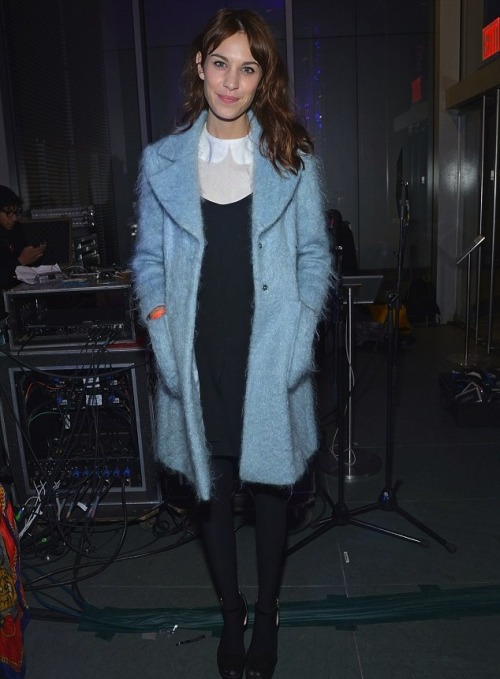 chung-alexa:  Alexa Chung attends The Armory Party at MOMA on March 6, 2013 in New York City.