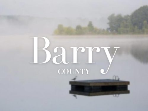 "Barry County was formed in 1829 and named after William Taylor Berry, United States Postmaster General under President Andrew Jackson, making it one of Michigan's ""cabinet counties"". 8/83"
