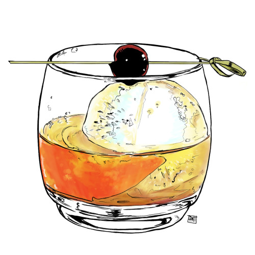 Patrick has been making cocktails in a different way lately.