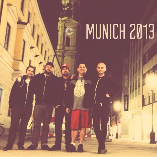 riseagainst:  Munich with our guru and mentor #BillStevenson and @hunttownsend