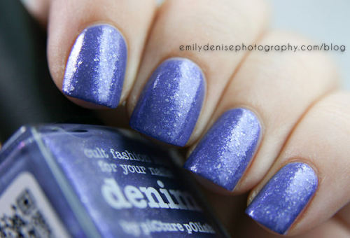 nailsbyveryemily:  piCture pOlish Denim. Head over to my blog to read more!