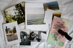 In the post recently: A beautiful landscape photography book and prints from Ryan Devore, Pennsylvania USA. The second issue of Stay Young zine featuring a lovely inter-changeable cover, from Paul Nelson, London. And the weird and wonderful world of Mike Howard, Chester. An amazing 3D anaglyphic hand printed zine complete with 3D glasses, packaged to perfection. Big up!