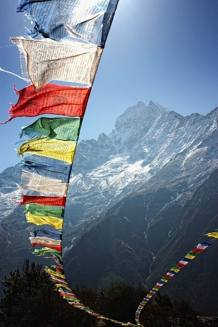 zoeyh2000:  For Mark kkdas:  Prayer Flags - Nepal     You have no idea how happy this makes me. My eyes welled up when I saw it. I love you!