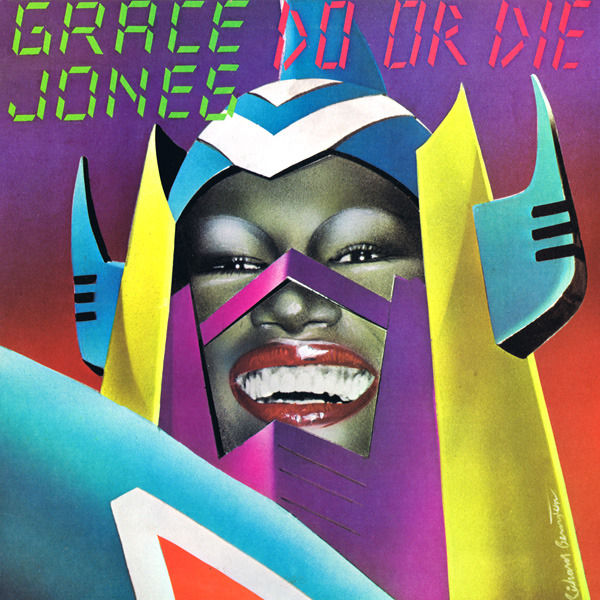 c86:  Happy New Year!  Grace Jones sums up all of my resolutions for 2013 in this video { Artwork by Richard Bernstein, 1978 }