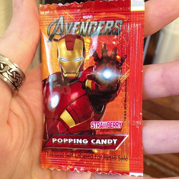 tobie1kenobi:  Why are all the Iron Man things strawberry flavored? Pepper is allergic. That's just rude.