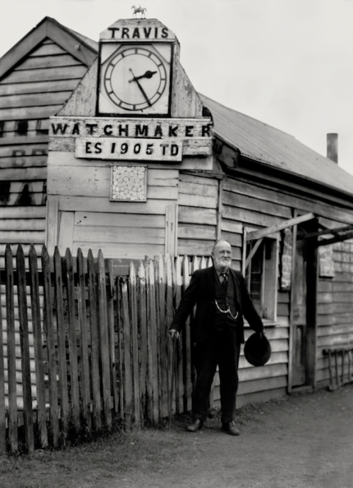 """Clocky"" Travis, Lamplighter at Bridgetown, West Australia, 1930 E.O. Hoppé"