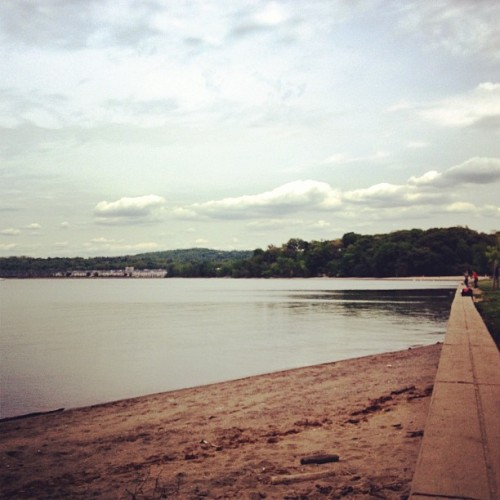 first stop.  (at Croton Point Park)