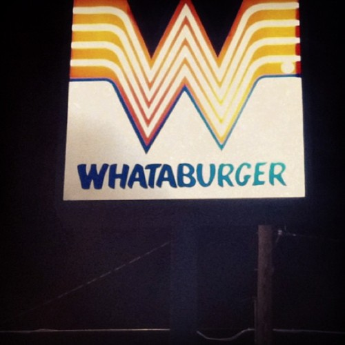 This is how I know I'm back in Texas #texas #tx #food #whataburger #elpaso #myleastfavoritecity #travel  (at Whataburger)