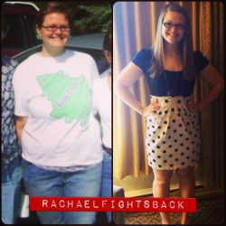wonderful-health:  rachaelfightsback:  Freshman move in day vs. graduation day. A lot sure does change during college.  holy shit girl