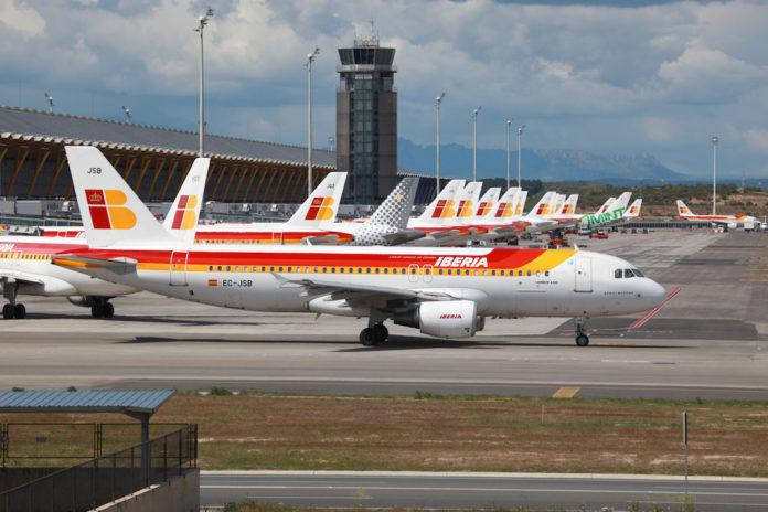 самолет Испания фото