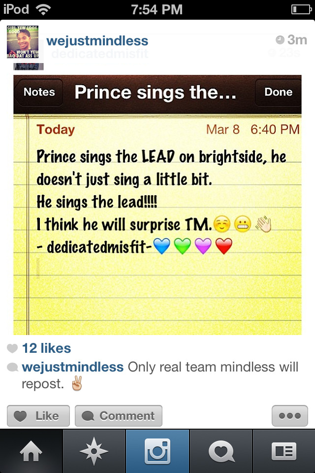 joyful143:  Y'all should Repost this thou but AWWW PRINCEY!!!!!!!!! Go ahead Sahn!!!!!