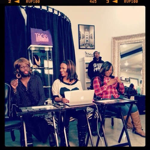 Fun times on #kkn @funkydineva @kandiburruss (That text conversation was serious… LMAO!)