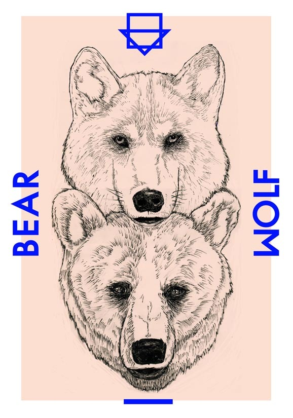 +a poster that  made under bearwolf project-