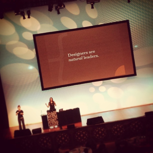 Love this quote #webstock  @mirandamulligan  (at Wellington Town Hall)