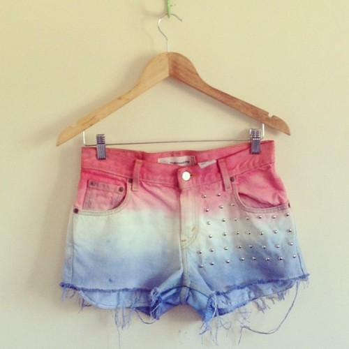 Ombre shorts for mia