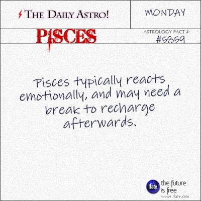 Pisces 5859: Check out The Daily Astro for facts about Pisces.and get a free online I Ching reading here