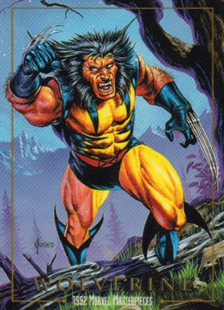 In Your Face Jam: Nostalgia & Comic Book Trading Cards My column this week involved me dragging out binders full of cards from under my bed and scanning them. Read that in an excited voice, because that's how I feel about that.