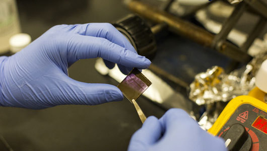mothernaturenetwork:  'Paintable' electronics pave way for cheaper gadgets The newly developed 'painted' semiconducting polymers create a thin-layer film capable of carrying an uninterrupted charge.