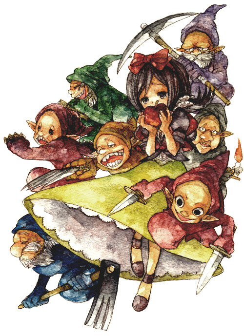 "fairytalemood:  ""Fairy Tale Battle Royale"" by イナ"