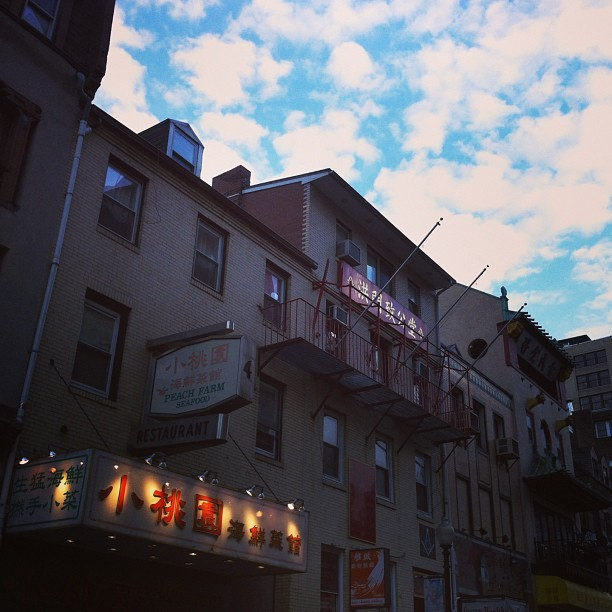 Tonight reminds me of being in Toronto's Chinatown, #Boston  (at Chinatown)