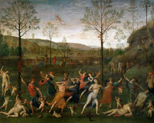 Pietro Perugino c. 1505 Combat of Love and Chastity