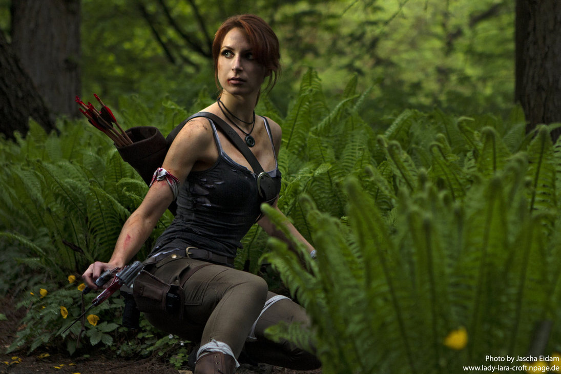 Lara in the forest by ~Lena-Lara
