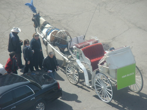 H&R Block Horse Buggy